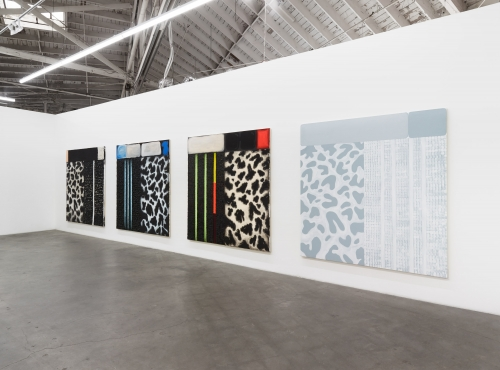 Dalmatian Paintings, Installation view at Night Gallery, 2019.