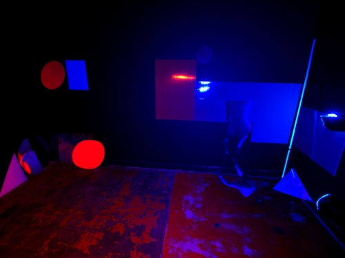 A Practical Approach to Spontaneous Painting and Modeling, Installation view, 2011