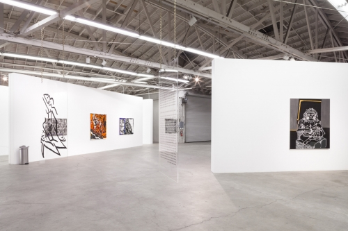 Installation view,Is She Is She Psychic,2015.