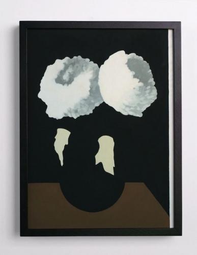 "Laeh Glenn, ""Mums in the Vase,"" 2013"