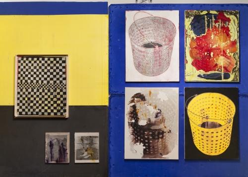 Installation view at NADA Miami, Martos Gallery booth, 2015