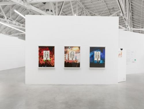 Delusionarium 5 (Adaptation), installation view at Night Gallery, 2021.