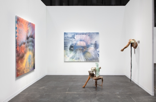 The Armory Show, installation view, New York, NY, 2021.