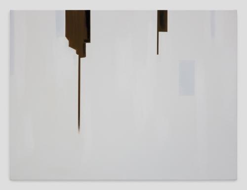 """In Absentia (Deep Sepia - Luminous White),"" 2017"