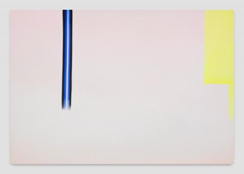 "Wanda Koop, ""In Absentia (Soft Pink - Glowing Yellow),"" 2017"