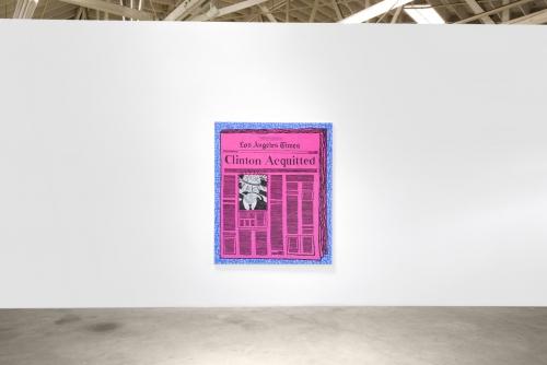 Derek Boshier, On The Road, installation view, 2017