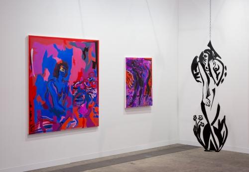 Installation view, Art Basel Hong Kong, 2016