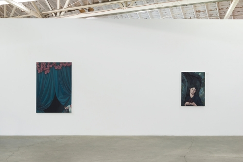 Jesse Mockrin, The Progress of Love​, installation view, 2016.