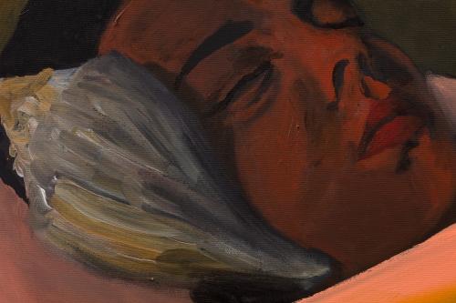 """""""Dreamer,"""" detail, 2021"""