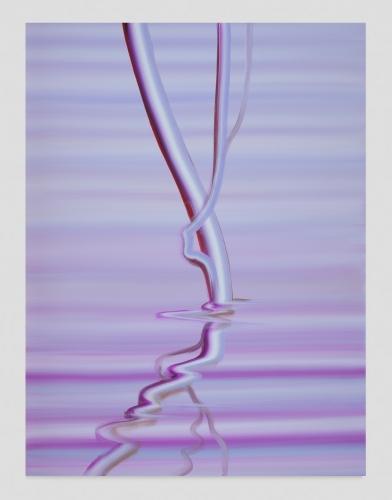 """Wanda Koop, """"Mauve Reflection,"""" 2020"""