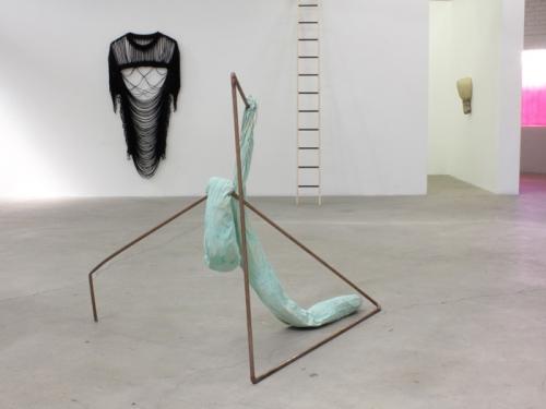 "Jory Rabinovitz, ""Tranzbindle,"" 2013, installation view in Culm, 2013"