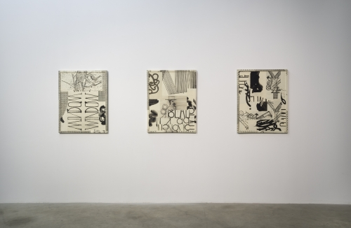 Figure Constructions, installation view, 2015.