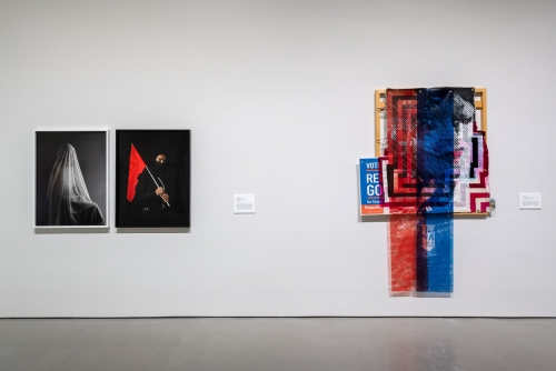 States of Mind: Art and American Democracy, installation view at the Moody Center for the Arts, Rice University, Houston, TX, 2020.