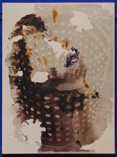 """""""Bucket Stamp Clear,"""" 2015"""
