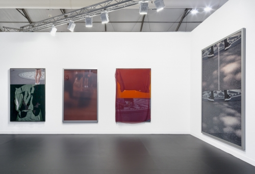 Installation view, Frieze London, 2016