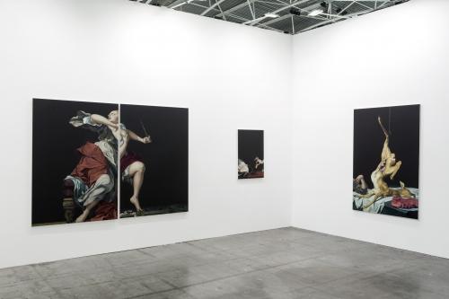 Installation view, Artissima Art Fair, 2019.