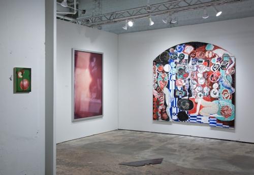 """Mirage Bed,"" 2017, installation view at NADA New York, 2017."