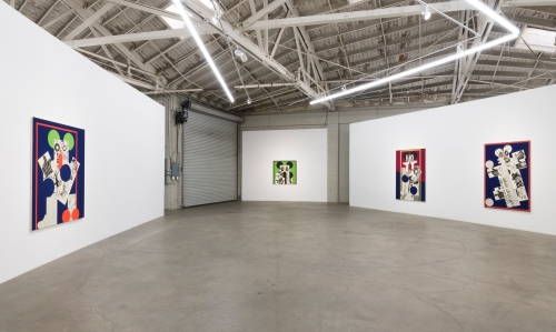 Howl, installation view at Night Gallery, 2019.