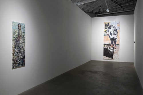 Aunt Nancy, installation view, 2016.