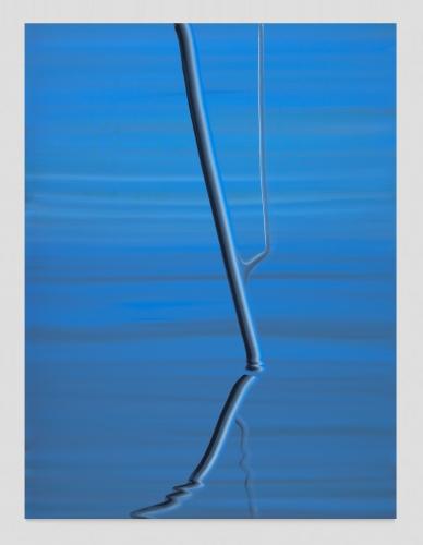 "Wanda Koop, ""Smalt Blue (Reflection),"" 2020"