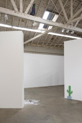 "Josh Callaghan, ""Bubba II: The Beginning,"" installation view, 2018."