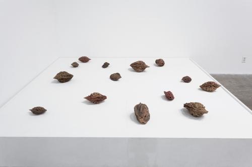 Sample Platter - Contemporary Ceramic, installation view, Guggenheim Gallery at Chapman University, 2020.