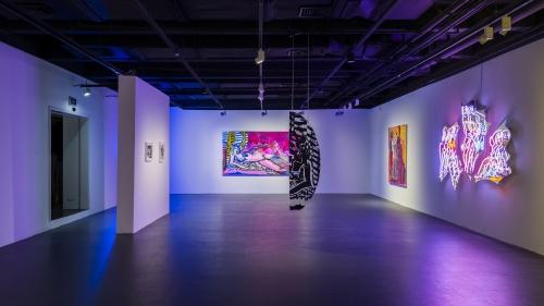 """FUTURE WOMAN // Remake Me,"" installation view at Yuz Museum Shanghai, 2016"