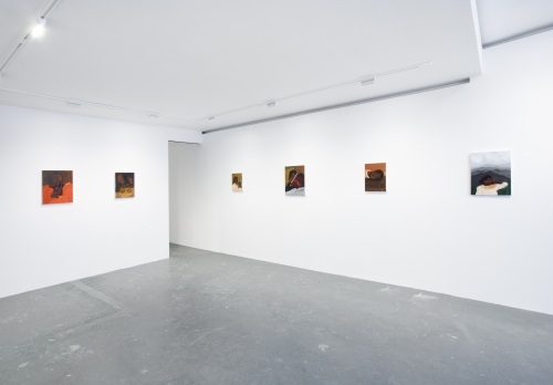 Saw My Shadow, installation view at Fortnight Institute, New York, NY, 2021