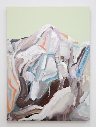 """Mt. Wilson (White Out IX),"" 2016"