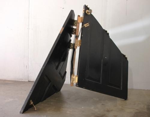 """""""Door #2,"""" modified door, 2011"""