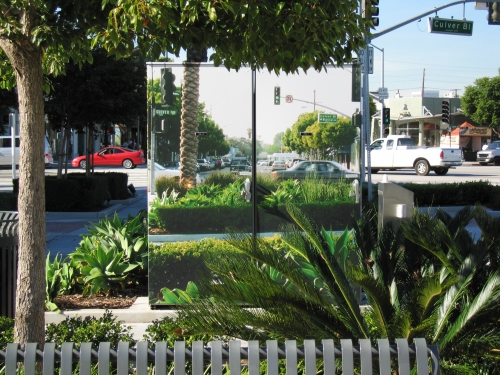 Wrapped utility boxes, Culver City, 2004