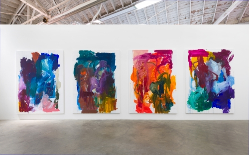 Installation view, Have you loved me for the last time (Laid Bare), 2018.
