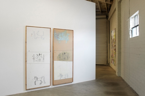 Goodnight Bojangles installation view, 2015.