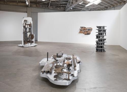 """Earthflash,"" Installation view, 2018"