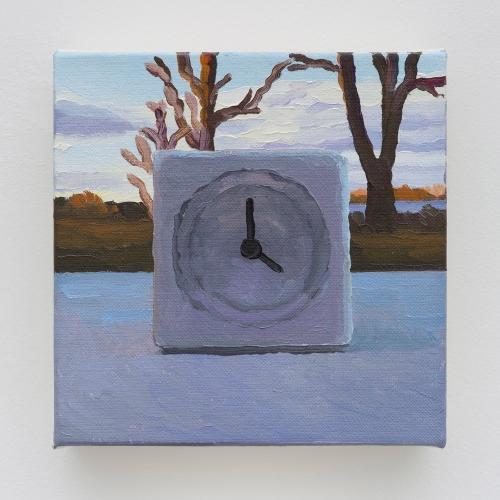 Equinox Clock, detail, 2014.