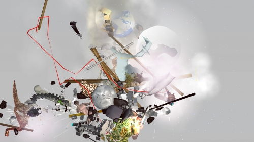 """Ian Cheng, """"Entropy Wrangler Atik,"""" still, 2013"""