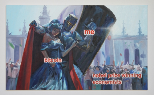 """Bitcoin Princess,"" 2018"