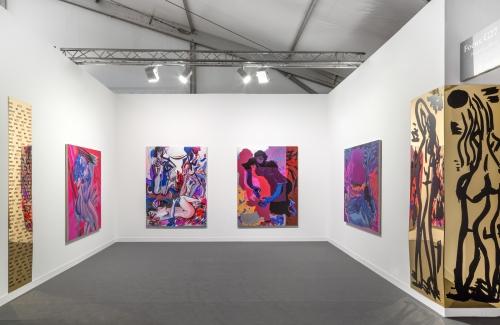Installation view, Frieze London, 2015