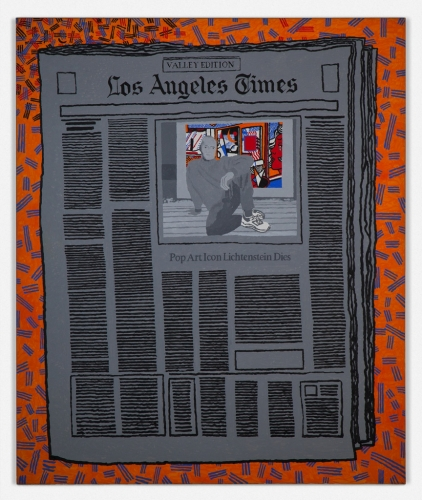 """Los Angeles Times - Pop Art Icon Lichenstein,"" 2000"