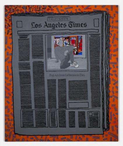 """""""Los Angeles Times - Pop Art Icon Lichenstein,"""" 2000"""