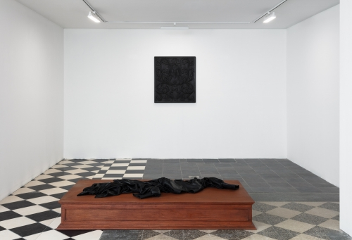 Bad News from the Colonies, installation view, Kristina Kite Gallery co-presented with Night Gallery, 2020.