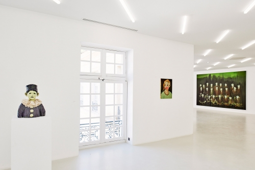 Installation view, Les Veilleurs, Collection Lambert, Avignon, France, 2018