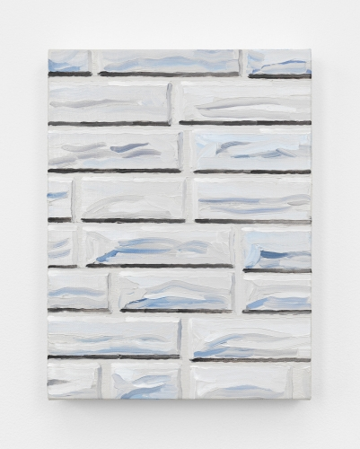 "Cynthia Daignault, ""Formstone,"" detail, 2018."