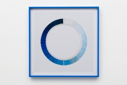 "Elise Rasmussen, ""Cyanometer (honolulu blue),"" 2018."