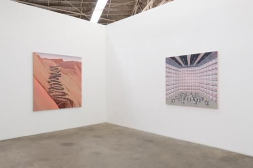 Installation view, 2nd Dark Age, 2018.
