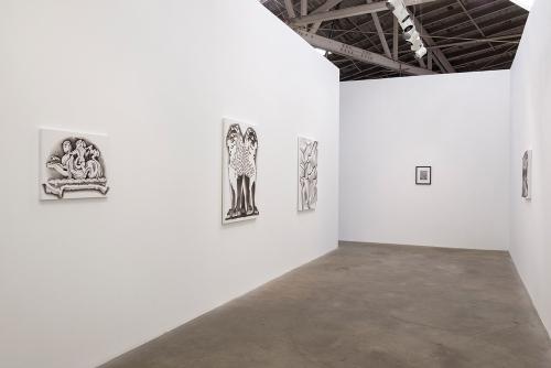 Tracy Molis,OSg-OSz, installation view, 2015.