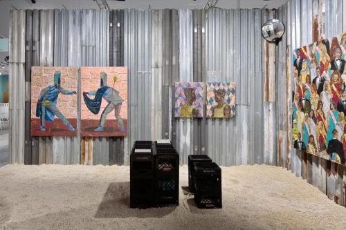 Installation view, Art Basel Miami Beach with Josh Lilley 2018.