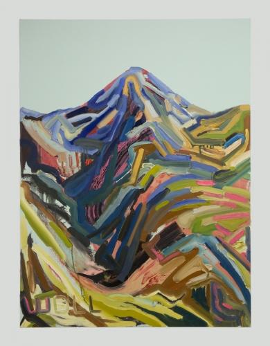 """Mt. Wilson (Western XI),"" 2016"