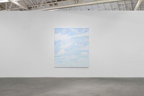 Paul Heyer, I Am the Sky, installation view, 2016.