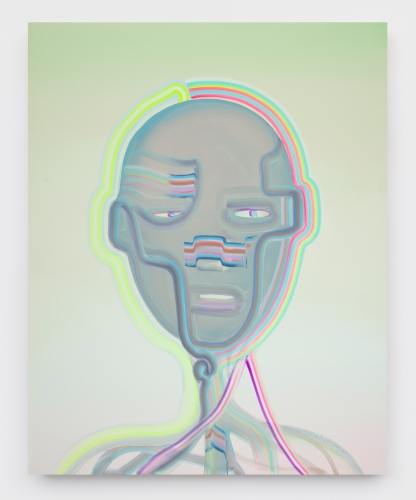 """Heartbeat Bot (Dark Eyes),"" 2020"